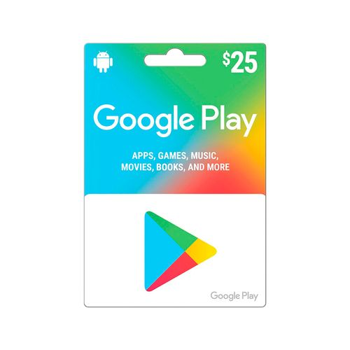 Google play gift card $25