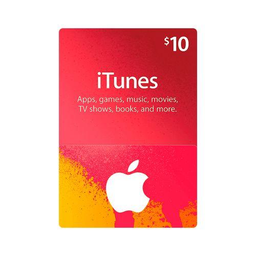 Itunes código digital $10