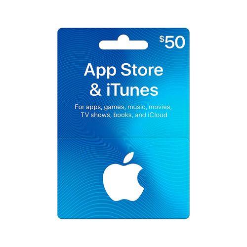 Itunes código digital $50