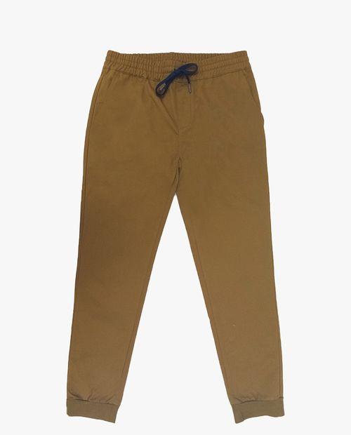 Jogger twill camel