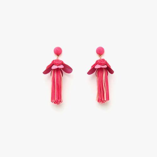 Aretes racimo beads