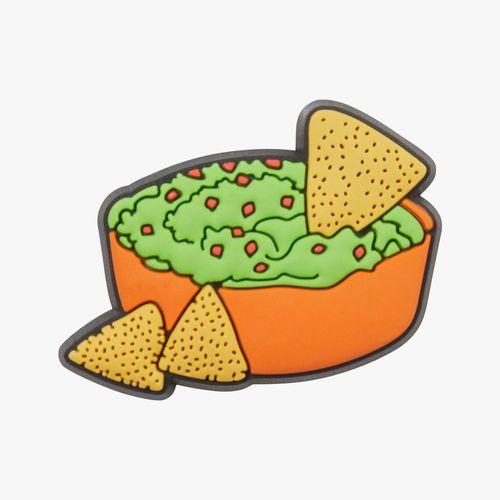 Accesorio crocs de guacamole
