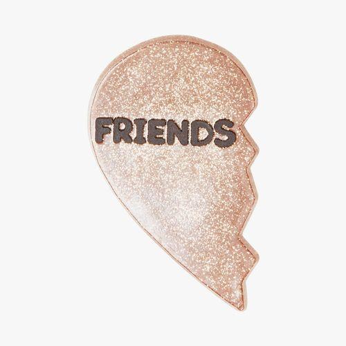 """Accesorio crocs de corazon """"friends"""""""