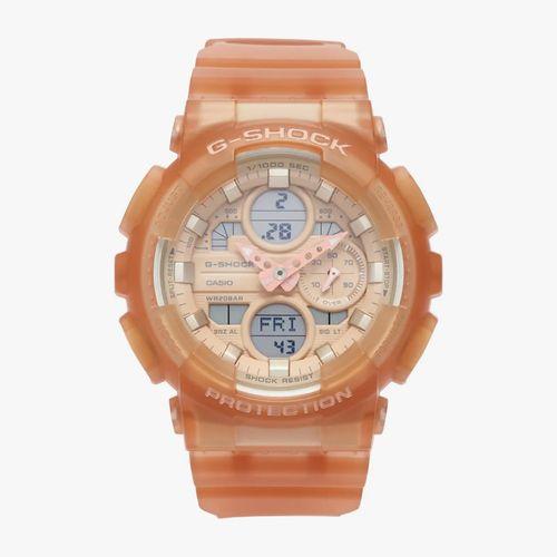 Reloj análogo/digital g shock rose gold resina dama