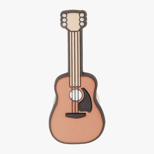 Accesorio crocs de guitarra