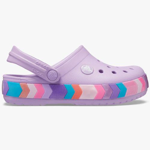 Calzado crocs lila/multi para niña