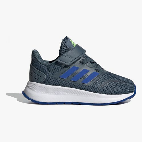 Calzado deportivo adidas runfalcon color gris/azul para infante