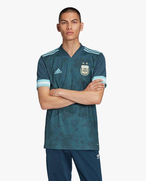 Camisa de hombre de argentina de visitante adidas