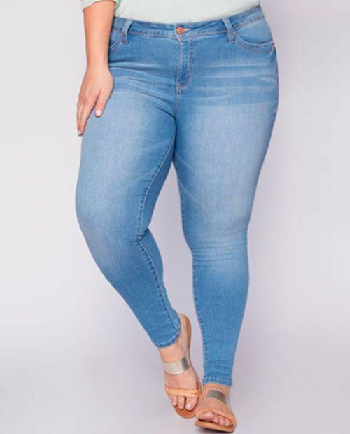 Jeans 108m1 lavado claro skinny