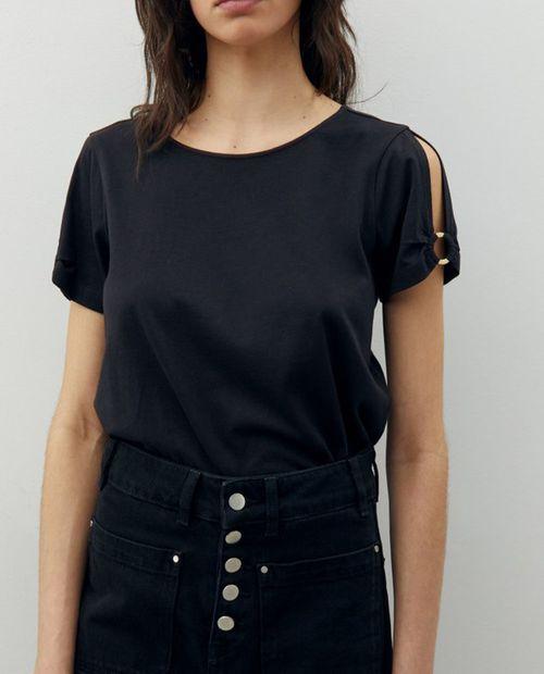 Blusa aro manga black