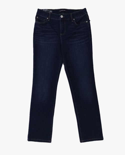 Jeans slim lavado oscuro