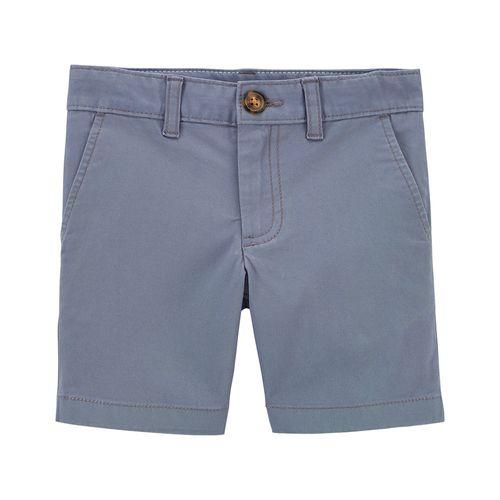Short casual gris para niño