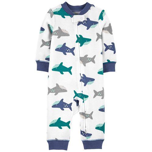 Pijama 1 pieza tiburones para niño