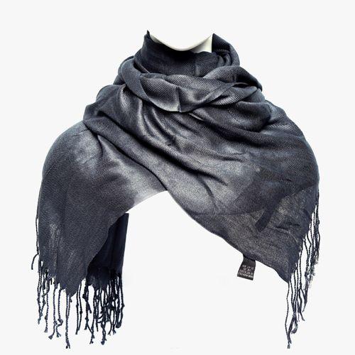 Bufanda color gris pashmina para dama