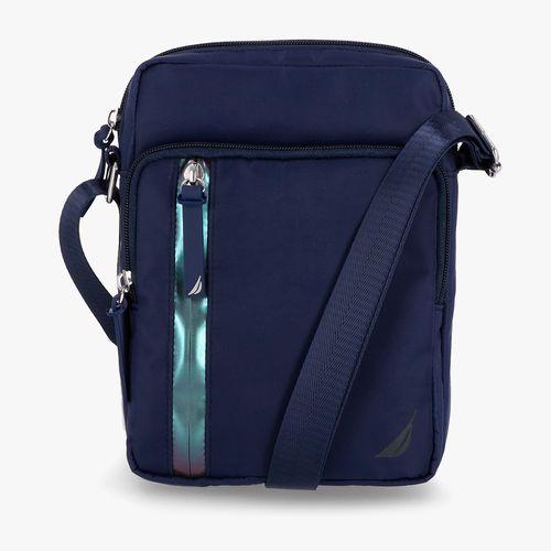 Cartera crossbody nautica color azul para dama