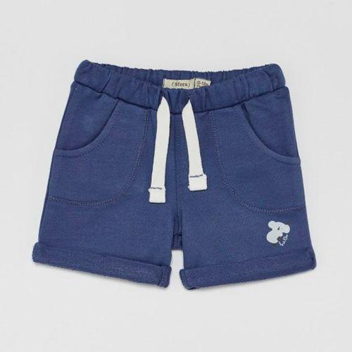 Short azul para niño koala