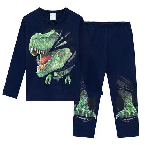 Pijama azul marino 6826 para niño