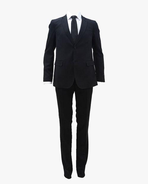 Traje moda negro