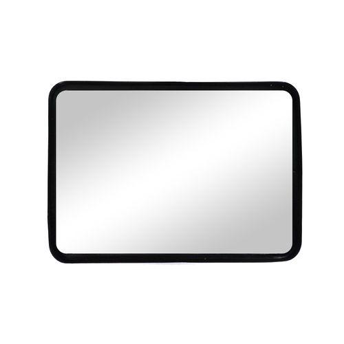 Espejo rectangular negro 28 pulg