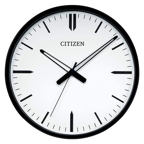 """Reloj de pared circular negro  16.5"""""""