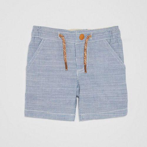 Short azul para niño