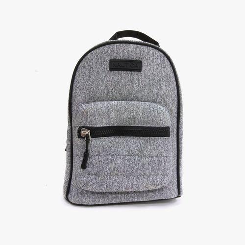 Cartera backpack gris