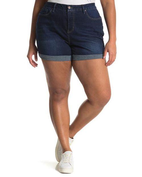Short med blue