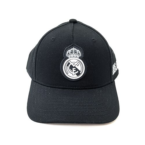 Gorra negra Real Madrid de niño