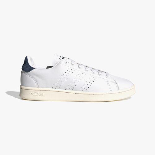 Calzado deportivo adidas blanco/azul advantage para caballero