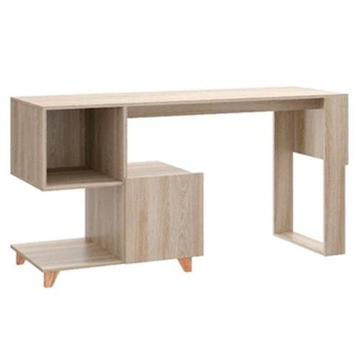 Mesa con estantes