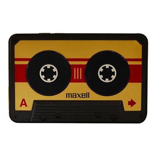 Bocinas bt estilo cassette dorado