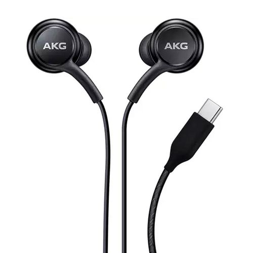 Audífonos in ear con cable usb-c negros