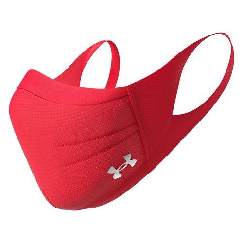 Mascarilla para ejercicio roja under armour talla s/m