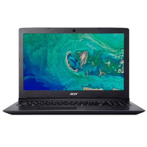 Laptop 15plg celeron n4000 4gb 500gb w10 negra