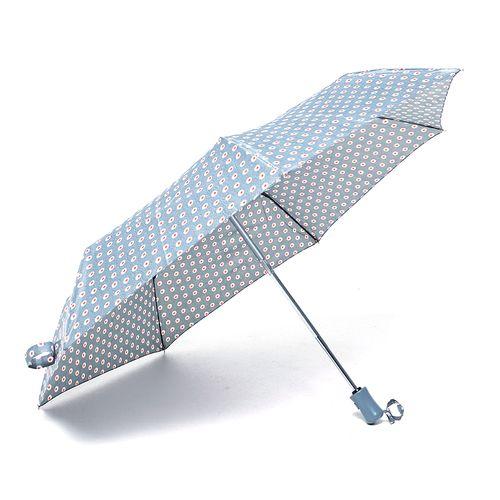 Sombrilla corta estampada c collection rompe viento color gris