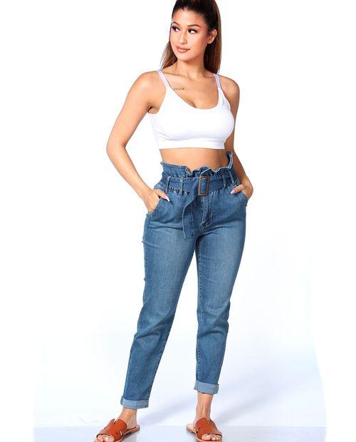 Denim  jeans  paper bag