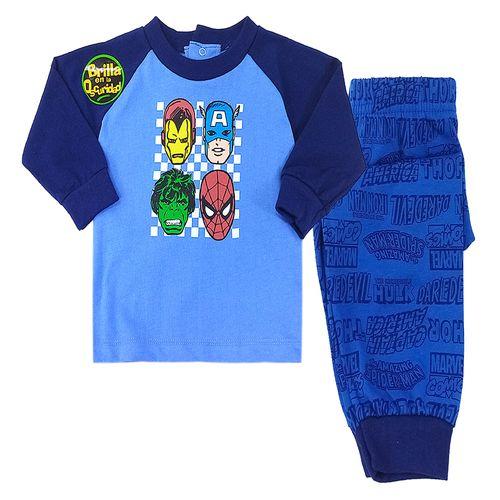 Pijama 2 piezas - 4 super héroes