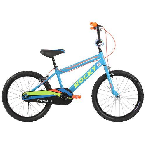 Bicicleta rali rocky rin 20 azul para niño