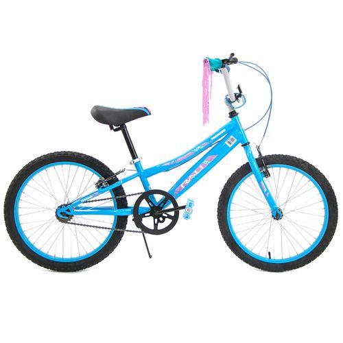 Bicicleta rali tornado rin 20 celeste bmx para niña