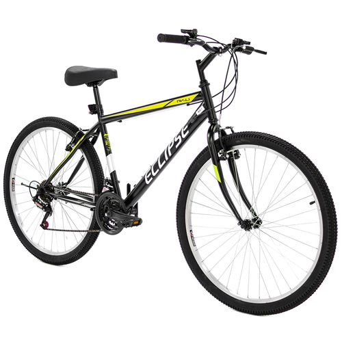 Bicicleta rali eclipse mtb rin 27.5 para hombre negro con amarillo