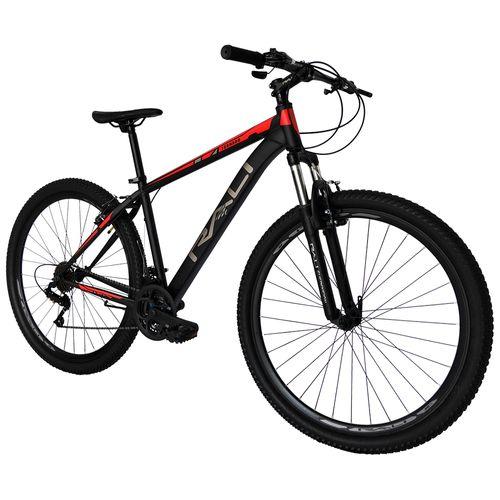 Bicicleta rali tornado rin 29 v-brake para hombre negro con rojo