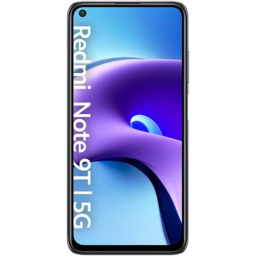 """Celular 6.5"""" redmi note 9t 4gb -64gb negro"""