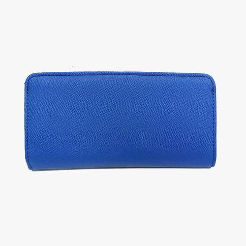 Biletera color azul para dama