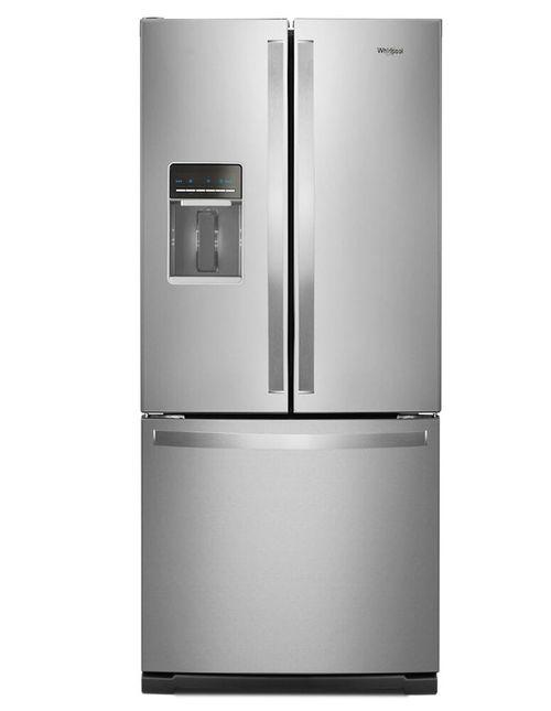 Refrigeradora 20 PCU puerta francesa inox
