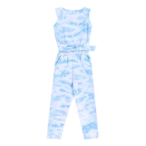 Jumpsuit azul tie dye