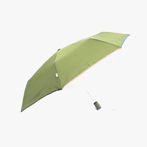 Sombrilla corta color verde olivo