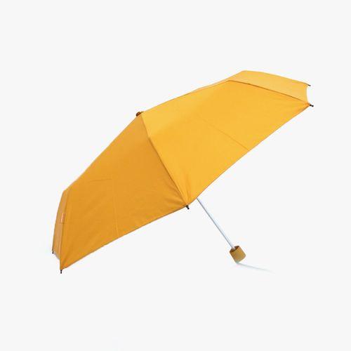 Sombrilla corta manual color amarillo