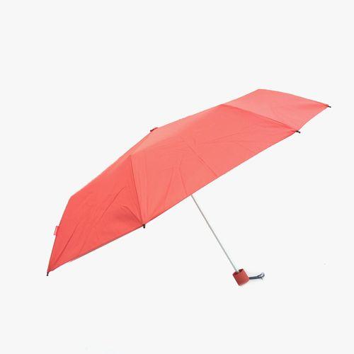 Sombrilla corta manual color rojo
