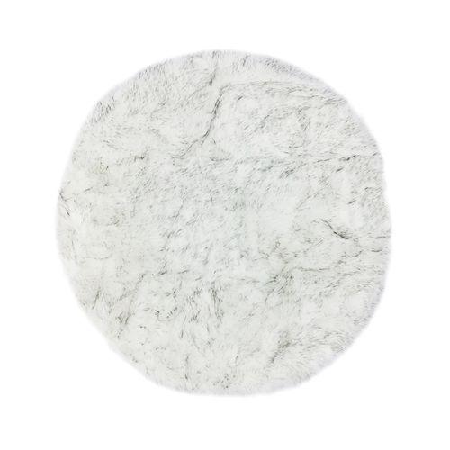 Alfombra de area faux far  39in gris 2 tonos
