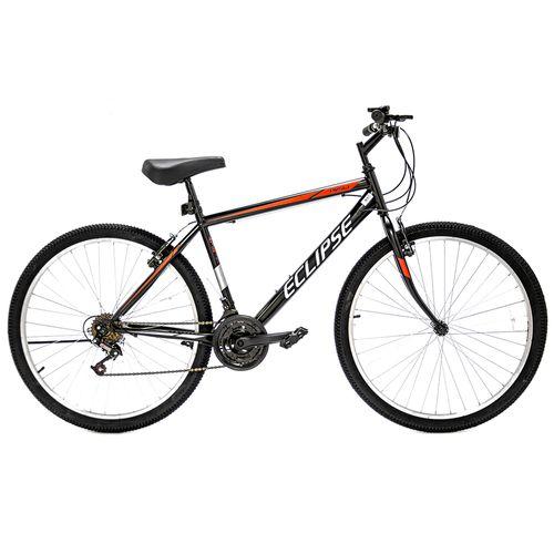 Bicicleta rali eclipse mtb rin 26 para hombre negro con rojo